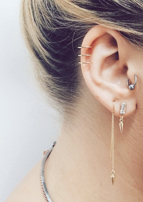 The Best Guide To Helix Piercing You Ll Ever Read 56 Ideas Dat
