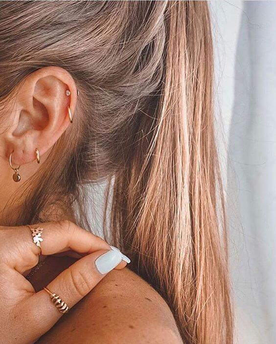 The Different Types of Ear Piercing and Their Names – Dat
